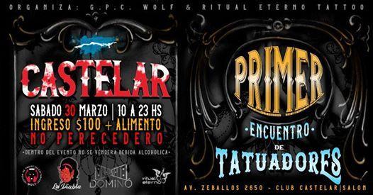 1 Encuentro de Tatuadores Castelar