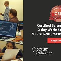 Certified Scrum Developer (CSD) - Dallas Workshop