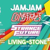 JamJam 17 juin 2017  Construct  Strange Future  Living-Stone