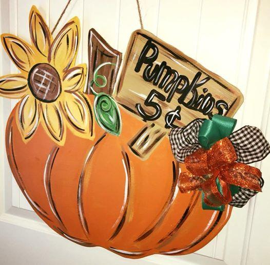 pick a pumpkin paint class at craft house amarillo