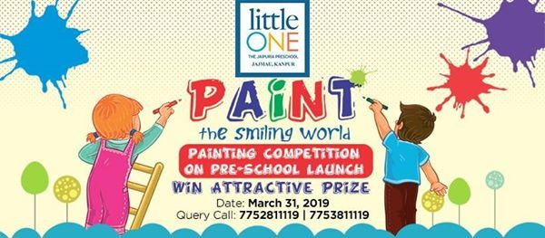 Painting Competition  Paint the Smiling World