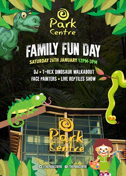 Dinosaurs LIVE at Park Centre