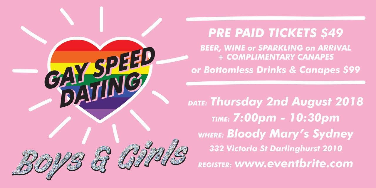 Gay speed dating adelaide