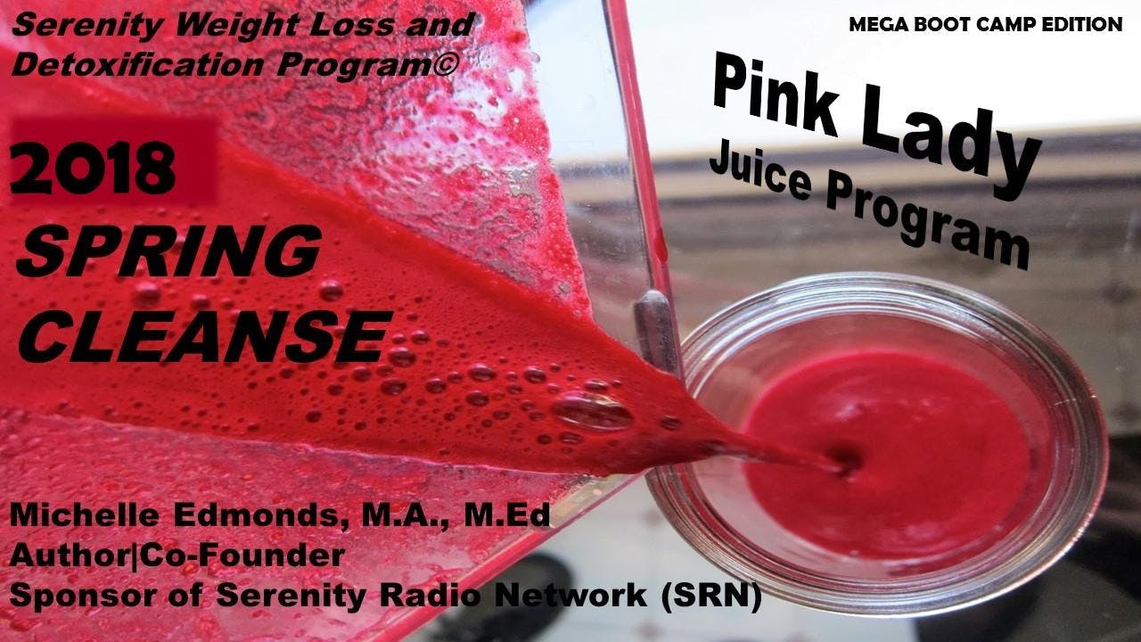 The PINK LADY Spring Juice Cleanse