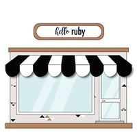Grand Opening Weekend of hello ruby storefront
