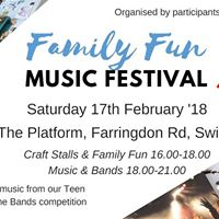 Family Fun Music Festival &amp Teen Battle of the Bands (NEW DATE)