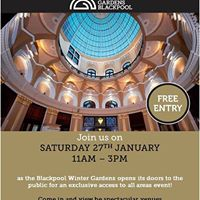 Open Day at Blackpool Winter Gardens