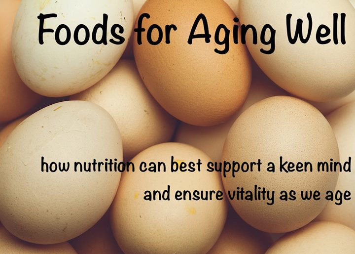 Foods for Aging Well