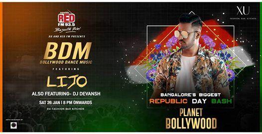 Planet Bollywood ft Dj Lijo  Republic Day Bash