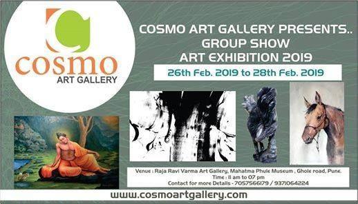 Cosmo Art Group Exhibition 2019