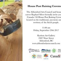 House Post Raising Ceremony