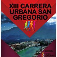 XIII Carrera Urbana De San Gregorio