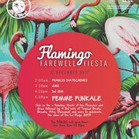 Flamingo Farewell Fiesta last trading day for 2017