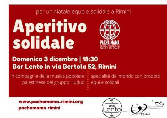 AltroNatale con Pachamama - Aperitivo solidale at Bar Lento ...