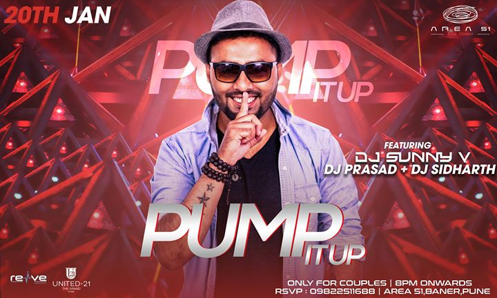 Saturday Pump it up Ft. DJ Sunny V