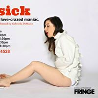 Gabriella DeMarcos &quotLovesick&quot premieres at The Hollywood Fringe