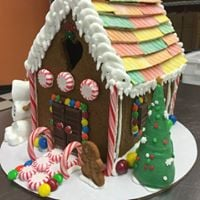Adult BYOB Gluten Free Gingerbread House Decorating Party