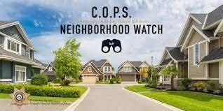 THE ORCHARDS OF HABERSHAM GROVE COPS NEIGHBORHOOD WATCH MEETING