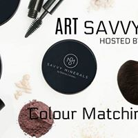 ART Savvy  Mineral Makeup Colour Matching Event