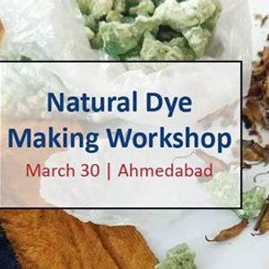 Natural Dye Making Workshop