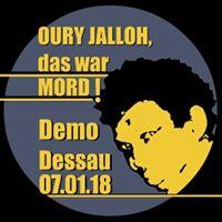 Zuganreise nach Dessau Oury Jalloh - das war Mord