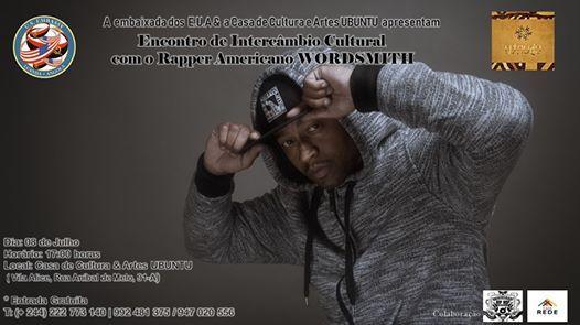 Workshop Com Músico De Hip Hop Motivacional Wordsmith