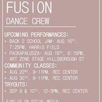 Fusion Community Class