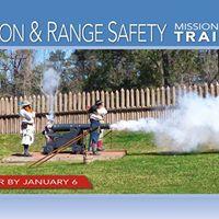 Cannon &amp Range Safety Training
