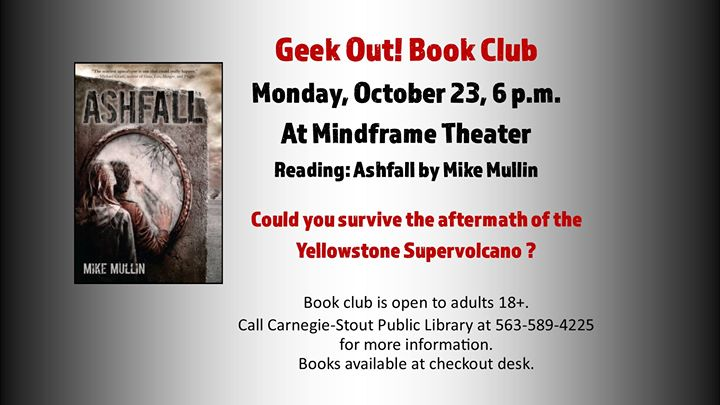 Geek Out! Book Club: Reading \