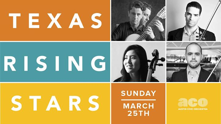 Free Concert Features Texas Rising Stars