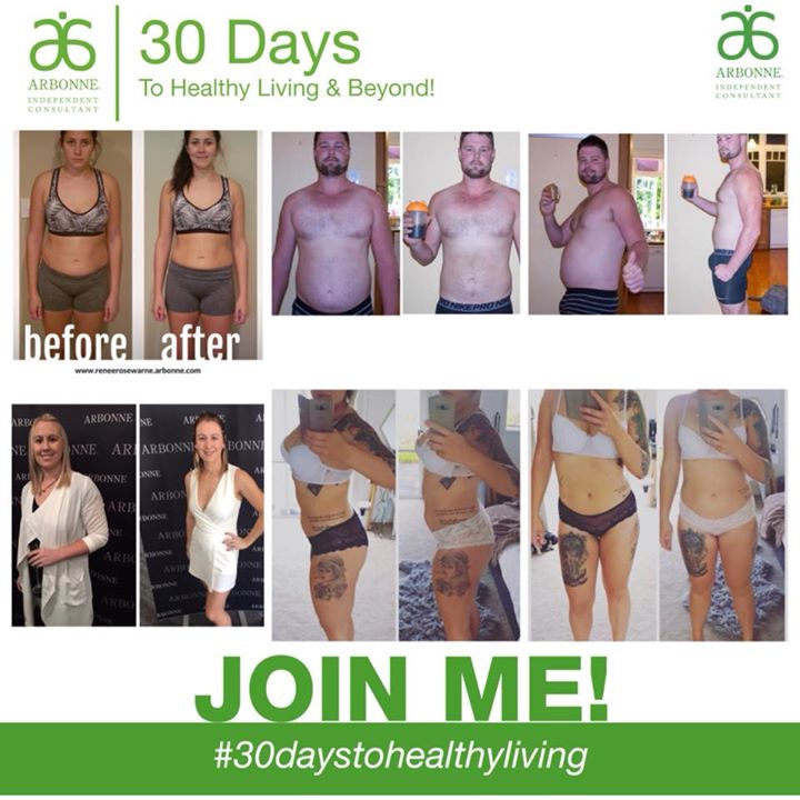 Arbonne 30 Days To Healthy Living Info At 43 Pyle Road West One