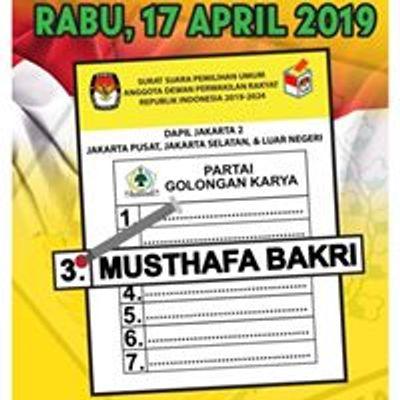 Musthafa Bakri Nomor Urut 3 DKI Jakarta 2