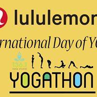 Lululemon International Day Yogathon
