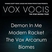 Vox Vocis Demon In Me Modern Racket Biomes &amp The Vox Arcanum