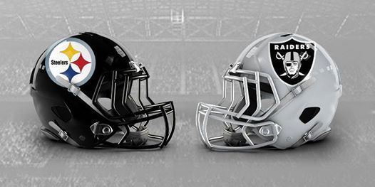 Image result for steelers vs. raiders