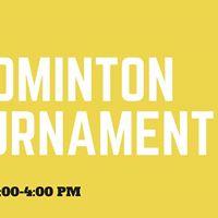 Bridges Badminton Tournament