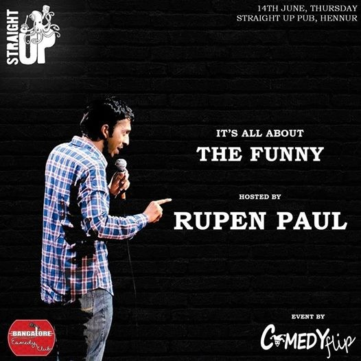 Its all about The Funny on 14th June