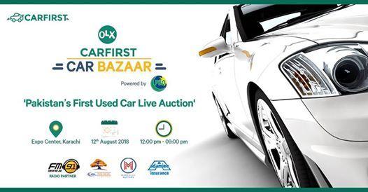 OLX CarFirst Car Bazaar at Karachi Expo Centre