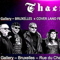 Concert &quotLive&quot de THAERY  loccasion du Coverland Festival