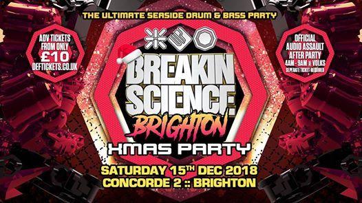 Tonight  Breakin Science Brighton  Xmas Party
