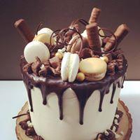 BIJNA VOL triple chocolate drip cake 6 februari 2018