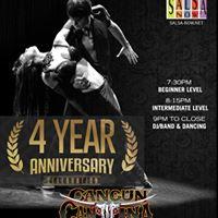 4th Anniversary Of Salsa Latin Sundays At Cancun Cantina