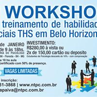 I Workshop de Habilidades Socais de Belo Horizonte