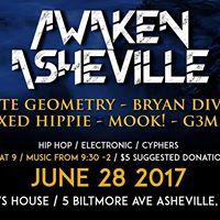 Awaken Asheville ft. Infinite Geometry Bryan Divisions &amp More