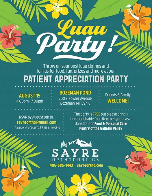 Sayre Orthodontics Patient Appreciation Party