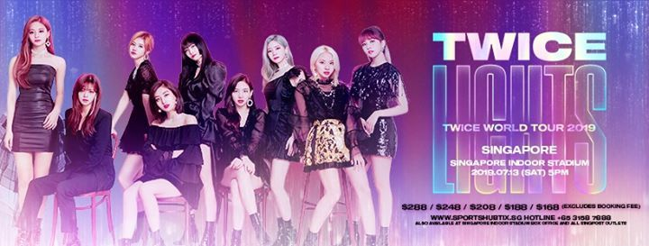 Twice World Tour 2019 Twicelights In Singapore At Singapore Indoor