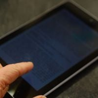 Free tablet help session