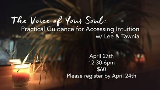 Accessing Intuition Day Retreat w Lee & Tawnia