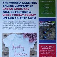 Girls Sunday-Funday - Hosted by Winona Lake Ladies Auxiliary