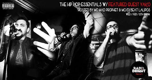 Hip Hop Essentials w Featured Guest YAKO [Live] at Radio Beirut